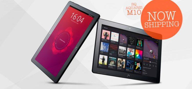 Η BQ άρχισε την παράδοση του πρώτου Ubuntu tablet