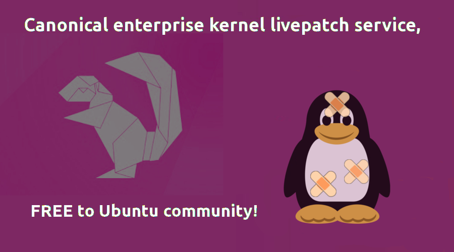 canonical-kernel-livepatch-free-to-ubuntu