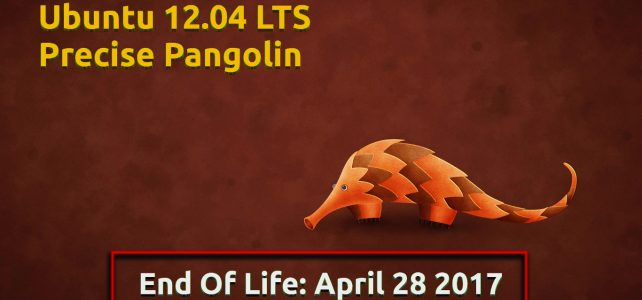[Announce] Ubuntu 12.04 reached EOL